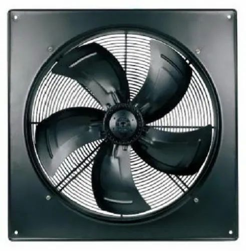 Square Casing For Axial Fan with External rotor motor
