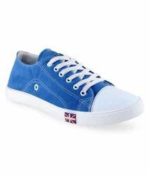 Feetzone Blue Canvas Shoes
