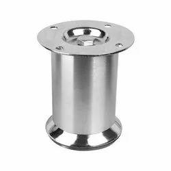 R-5405 CD Gloss Stainless Steel Sofa Leg