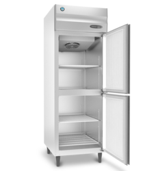 Hoshizaki Silver 2 Door Vertical Refrigerator, Model Name/Number: Hrfw 77 Ms4