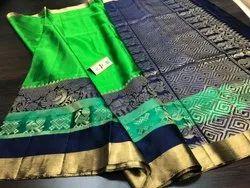 Indian Ethnic Designer Kanchipuram Handloom Silk Saree