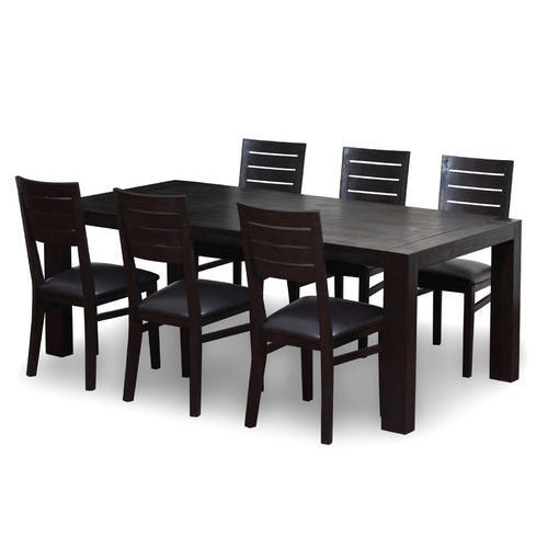 Modern Wooden Dining Table Set At Rs 48 Set Wooden Dining Inspiration Modern Wood Dining Room Table