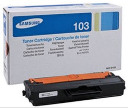 Samsung 103 Toner Cartridge Single Color Ink Toner  (Black)