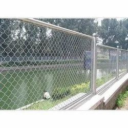Galvanized Iron Stainless Steel Fence, For Agriculture