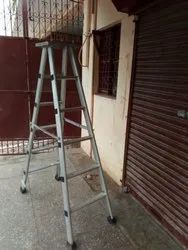 Aluminum Folding Step Ladder With Platform