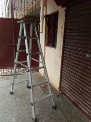 Aluminum Folding Step Ladder With Platform 8' Feet