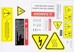 Adhesive Paper Industrial Printed Sticker