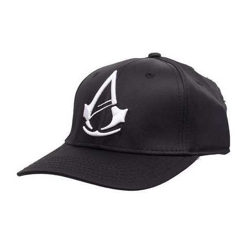 Black Assassins Creed Unity Logo Cap Size One Size Rs 799