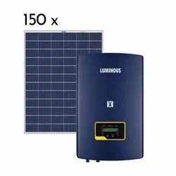 Luminous 50 kw on Grid Solar System