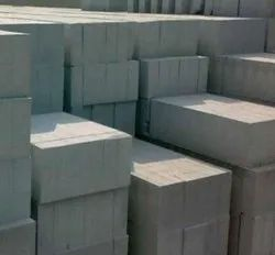 Fly Ash Rectangular AAC Light Weight Brick, For Side Walls, Size: 6