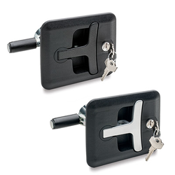 Latches with Push Handle