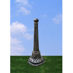 Helvita Cast Iron Bollard Garden Light  DBL-004