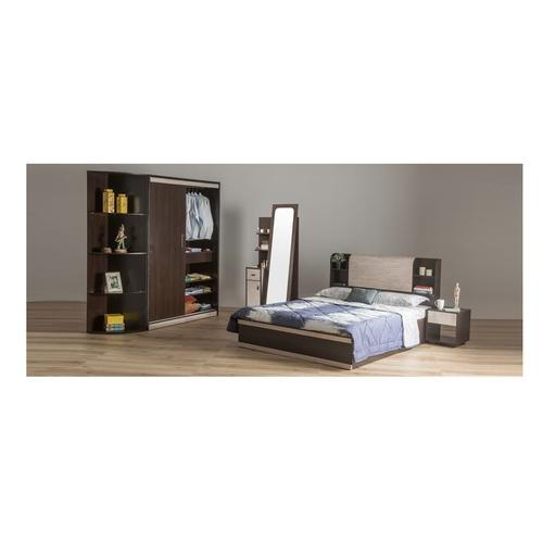 Durian Morris Hydraulic King Size Bed With Headboard Storage Rs