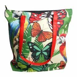 459b75163b Butterfly Print Tote Bag