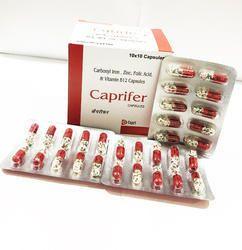 Carbonyl Iron V B12 Capsules