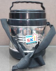 Stainless Steel & Plastic Black Anchor 3 Layer, For Office & Home, Size: Medium