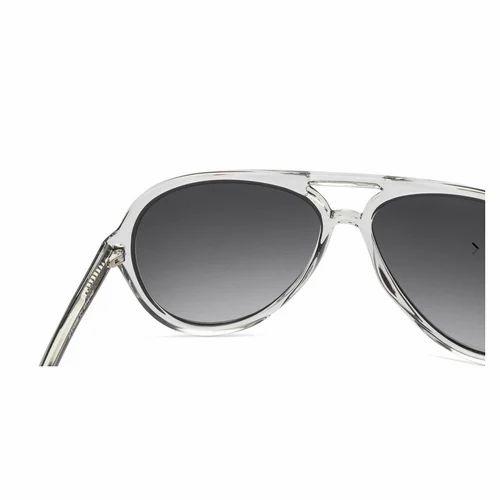 9711f9380d Unisex John Jacobs Jjs10698 57mm Black Transparent Sunglasses