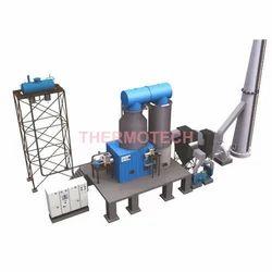 Semi-Automatic Thermic Fluid Heater