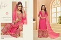 Baby Pink Designer Sharara Style Suit