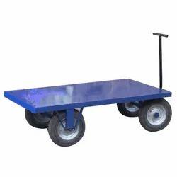 Sorikal Mild Steel Heavy Duty Trolley, Capacity: 500 -1000 kg