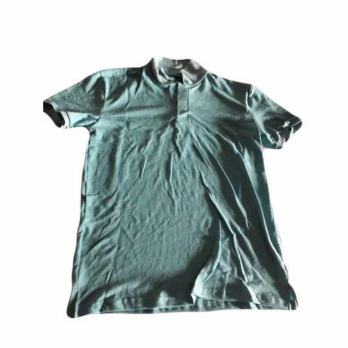 1d9f619d Cotton Half Sleeve Casual Plain Polo T Shirt, Rs 250 /piece | ID ...