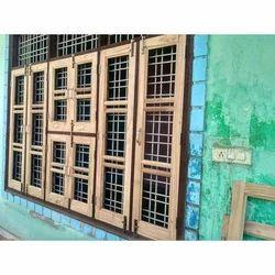 Wooden Window, 6.5 - 7.5 feet