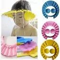 Adjustable Safe Soft Bathing Baby Shower Cap Wash Hair for Children-BABY-BATH-CAP