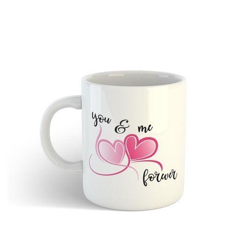 White Ceramic Coffee Mug Printing Service
