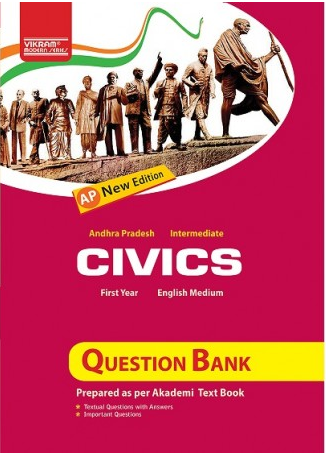 1st Year Inter Civics Book - AP-I-Inter-Civics-(TM)-QB-2018