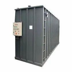 Clean Aquato Activated Sludge Process Containerised Effluent Treatment Plant, 4-10 Kw, Capacity: 10 - 4000 Kld