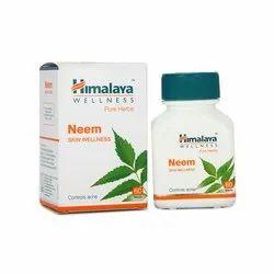Himalaya - Neem Tablets, Packaging Type: Bottles