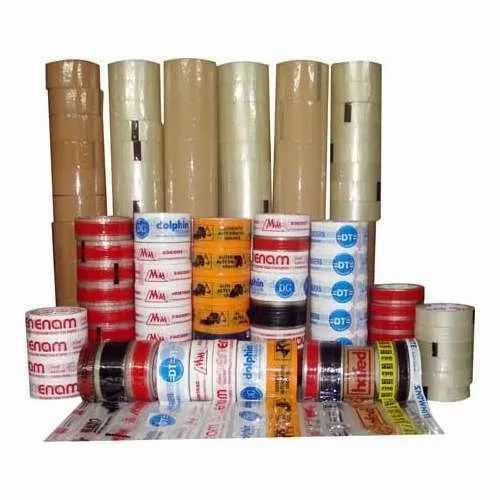 Single Sided Adhesive Tape, Size: 1/2 inch, for Carton Sealing