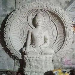 Fiber Buddha Statue