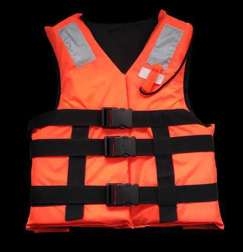 Orange And Red Polyethylene Foam Life Jacket MMAES 220