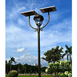 Solar Garden Light Pole
