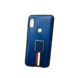 PU Leather MI Fancy Mobile Back Cover, Size: 5.5 inch