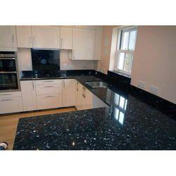 Black Granite Kitchen Slab 30 Mm Rs 220 Square Feet Marbles