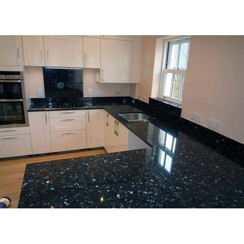 Black Granite Kitchen Slab