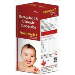 Romicin-NT Racecadotril Ofloxacin Suspension, Prescription, Treatment: Diarrhoea