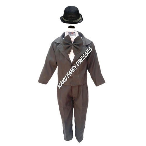 3c0141adcf1f Boys Black And White Kids Charlie Chaplin Costume