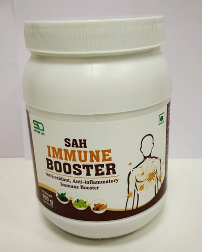 Sah Immune Booster With Goodness Of Amla, Cinnamon, Greentea Extract, Harad