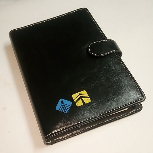 Leather Diary Printing Service, Leather Printing, चमड़ा