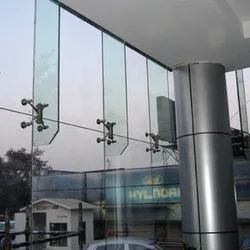 12mm Toughened Glass Spider Fitting Work