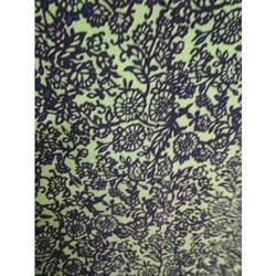 Cotton Floral Printed Fabric, GSM: 90-160