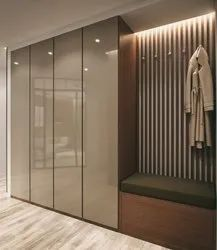 Plywood Modular Wardrobe