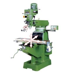 Vertical Turret Type Milling Machine, Automation Grade: Manual