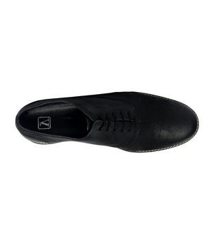 e003e8e8987 Men Party Wear Van Heusen Black Lace Up Shoes VDMMS00660