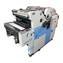 Two Color Non-Woven Bag Printing Machine