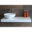 LG Hi Macs Washroom Acrylic Solid Surface
