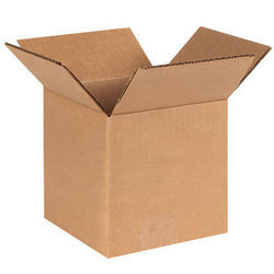 Industrial Plain Corrugated Packaging Box